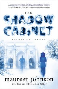 The Shadow Cabinet by Maureen Johnson *Stephanie's Review*